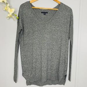 American Eagle Gray Sweater XS